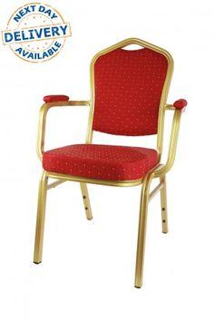 Aluminium Diamond Stacking Chair