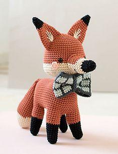 Thomas Aguará Guazú pattern by Yanina Schenkel Amigurumi Patterns, Crochet Patterns, Etsy Handmade, Handmade Ideas, Knitted Animals, Animal Books, Crochet Books, Softies, Pet Toys