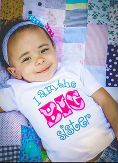 I am the BIG Sister Shirt by MaddysCloset2013 on Etsy