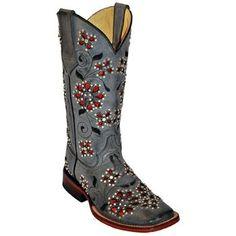 Ferrini Women's Winter Blossom Western Boots $264