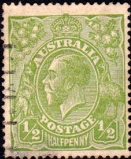 Australia 1914 SG 20c King George V Head Fine Used Scott 19 Other Australian Stamps HERE