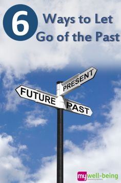 Don't let yesterday take up too much of today. See these 6 ways to let go of the #past