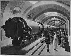 Telescope, Paris Exhibition, 1900.
