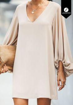 Dresses for women Limonni Claudette Elegant shorts Cute Dresses, Casual Dresses, Short Dresses, Dresses With Sleeves, Modest Fashion, Hijab Fashion, Fashion Outfits, Look Fashion, Fashion Design