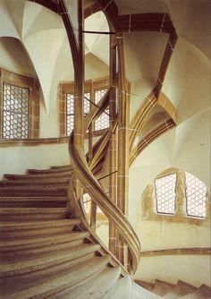 """sp-arqtec: """"Arnold von Westfalen. Meissen, Castillo de Albrechtsburg, la Gran Escalera (der Grösse Wendelstein), detalle. c1471-1480 """""""