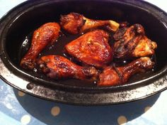 Slimming Girl sticky BBQ chicken slimming world plus lots of other slim recipes. Slimming World Curry, Slimming World Dinners, Slimming Eats, Slimming World Recipes, Slimming Workd, Slow Cooker Recipes, Cooking Recipes, Healthy Eating Recipes, Family Meals