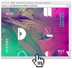 Let's go to the MeM micro-site    MEM is an eccentric experimental type system created by Elena Schädel and Jakob Runge in 2012. It produces many personalities, each individual and emotive. You will never know which of the alternating letters is going to occur next.