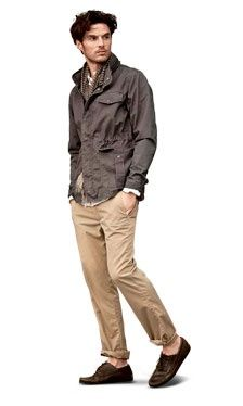 Jackets are never a bad idea. Mens Summer Fashion 2012 - 100 Days of Summer Style - Esquire