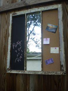 Wall Decor vintage window.Chalk by 2riverswoodshop on Etsy, $95.00