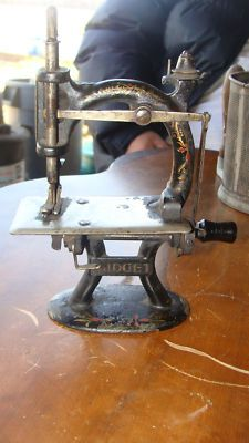 Antique Midget Toy Sewing Machine