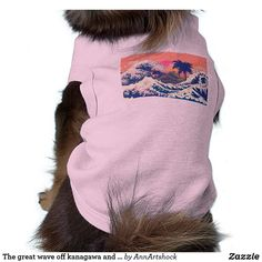 The great wave off kanagawa and palm trees shirt Great Wave Off Kanagawa, Pet Gifts, Palm Trees, Shop Now, Waves, Long Hair Styles, Shirts, Shopping, Fashion