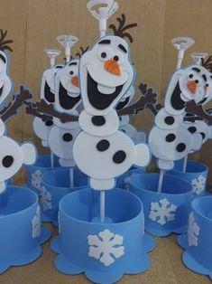 Resultado de imagen para centros de mesas de frozen