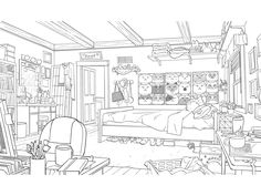 Big Hero 6 TV Series production art for Season 1 and Background Drawing, Cartoon Background, Animation Background, Environment Concept Art, Environment Design, Big Hero 6, Dreamworks, Underwater Background, House Colouring Pages