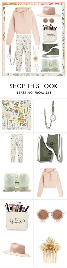 """LAZY DAYS"" by munascoolture ❤ liked on Polyvore featuring Sage & Co., MANGO, Keds, Valentino, Off-White, House of Holland, Witchery and Miriam Haskell"