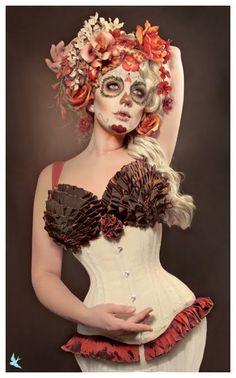 Arts In Wonderland: Caveira Mexicana - Dama de la muerte
