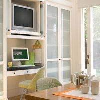 Tips for Incorporating a Kitchen TV - Better Homes and Gardens - BHG.com