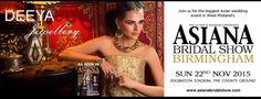 Deeya Jewellery at Asiana Wedding Show 2015 in Birmingham Bridal Show, Wedding Show, Bridal Style, Indian Bridal Fashion, West Midlands, Birmingham, Pakistani, Wedding Events, Strapless Dress