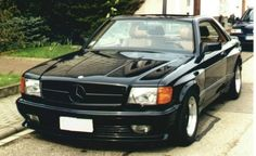 This Mercedes 560 SEC AMG Is Out Of This World