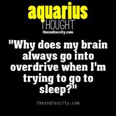 Aquarius thought.