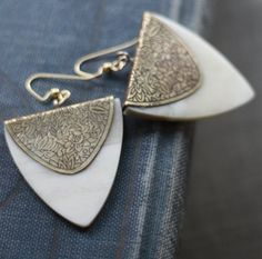 Boheme Indian Bone Earrings