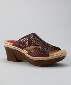 Regal Red Ilara Slide by Earth on #zulily today!