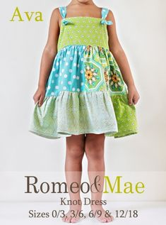 knot dress sewing tutorial
