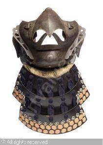 A karura menpo (mask) sold by Bonhams, London, on Tuesday, November 06, 2012