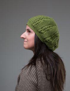 Ravelry: Oblak Beret pattern by Elitza Chernaeva Beret, Ravelry, Knitted Hats, Winter Outfits, Winter Hats, Crafty, Wool, Knitting, Crochet