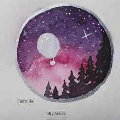Stephanie's Sketches 259/365- Here is my voice. - • • • • • #art #drawing #doodle #sketch #sketchbook #penandink #pen #ink #typography #illustration #watercolor #painting #tattoo #blackwork #visualsoflife #instagood #liveauthentic #exploretocreate #365project #adrawingaday #artdaily #artofinstagram #worldwatercolorgroup #handmade #motivation #inspire #college #mountains #autumn