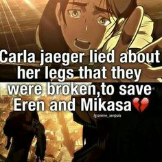 Anime facts Carla.. she was such an amazing mother.. I wish I had an amazing mother like she is....