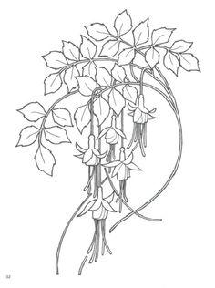 New Art Nouveau Pattern Design Coloring Books Ideas Flores Art Nouveau, Art Nouveau Flowers, Motifs Art Nouveau, Design Art Nouveau, Art Nouveau Pattern, Tatuagem Art Nouveau, Art Nouveau Tattoo, Art And Illustration, Land Art