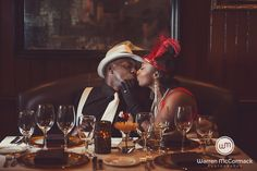 Warren Mccormack Photography. Halls Chophouse. Charleston, SC engagement.
