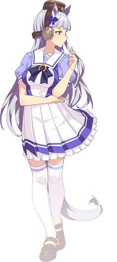 uma musume pretty derby Anime Figures, Anime Characters, Manga Art, Anime Art, Monster Musume, Demon Girl, Like Animals, Horse Girl, Monster Girl