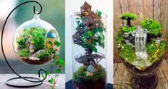 27 idées pour réaliser de magnifiques jardins miniatures chez soi