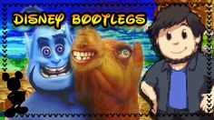 """Disney Bootlegs - JonTron """"Could you imagine Kingdom hearts with worlds like this"""""""