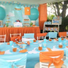 Planes Birthday Party Ideas | Photo 7 of 19 | Catch My Party