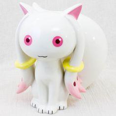 Puella Magi Madoka Magica Kyubey Ceramic Figure Coin Bank Medicom JAPAN ANIME
