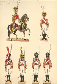 Army Uniform, Napoleonic Wars, Jumping Jacks, Strasbourg, Soldiers, Switzerland, Royals, 19th Century, 18th
