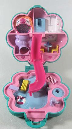 One of my favorite Polly Pockets I had as a kid