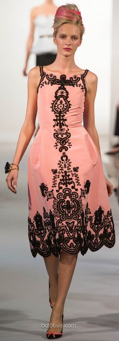 Oscar De La Renta Spring Summer Ready to Wear 2013- Kathleen, here is the dress you wanted to see earlier