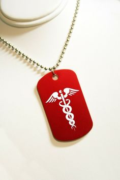 $8.00 medical alert dog tag. JC GrafixDesignStudio on . excellent customer service and quality!