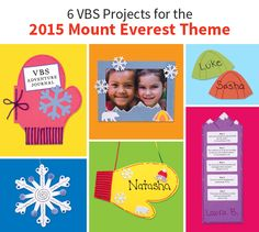 Love these project ideas for the theme! Can't wait to put together my program for this summer's class. Vbs Crafts, Crafts For Kids, Everest Vbs, Mount Everest, Vbs Themes, Summer Classes, Bible School Crafts, Vbs 2016, Winter Light