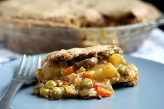 Gluten-free & Vegan Vegetable Pot Pie by Tasty Yummies. For PKU recipe, substitute PKU flour