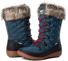 16 cute winter boots to pick out for this years winter wardrobe |  GLOBALWIN Women's Winter Waterproof Snow Boots | Best Ladies Winter Boots Cute Winter Boots, Winter Fashion Boots, Winter Fashion Casual, Warm Boots, Best Rain Boots, Pool Shoes, Women's Shoes, Womens Muck Boots, Stylish Shoes For Women
