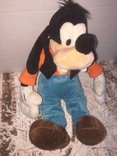 "Disney Store GOOFY 20"" Plush Toy Stuffed Animal FREE SHIPPING GSP OK    eBay"