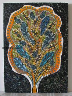 Tiere und Kunst von Herbivore11 - Wunderbäumchen Nr. 2