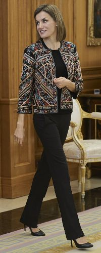 16 Dec 2015 - Queen Letizia attends audience hearing with FAD