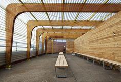 Highbridge Centre, Manhattan.  Parsons Architecture students overhaul rec centre.