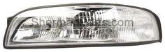 1997-1999 Buick LeSabre Headlamp LH W/O Cornering Lamp LeSabre 97-99