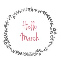 Hello March | elorablue